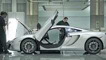 McLaren MP4-12C production finally gets under way [video]