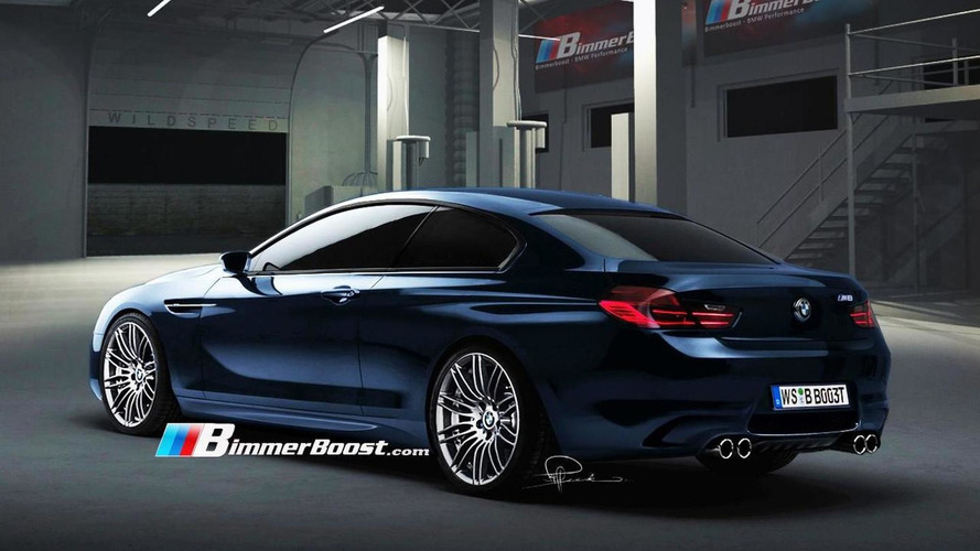 2012 BMW F12 M6 Rendered