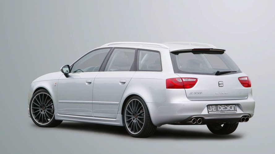 JE Design releases SEAT Exeo ST details and photos