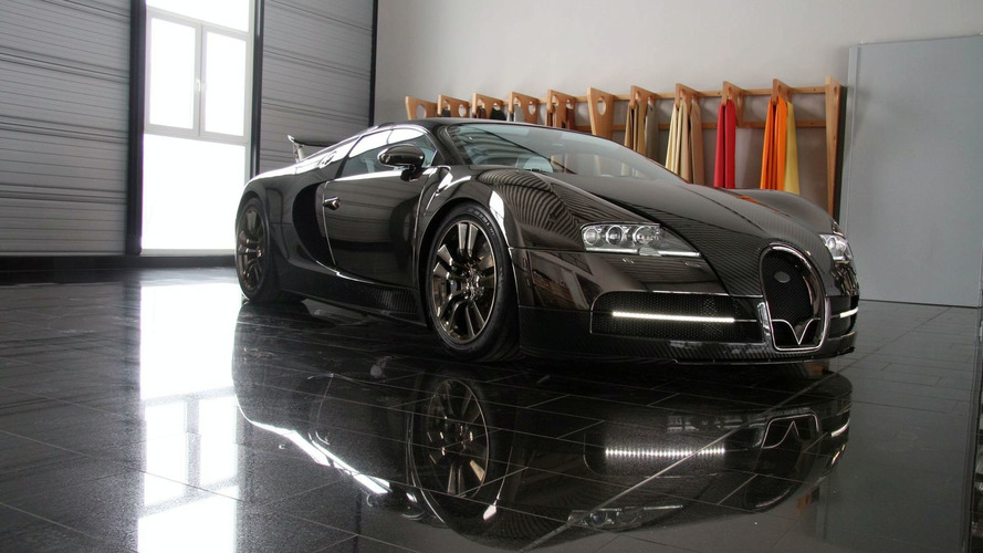 Mansory Bugatti Veyron Linea Vincero new photos and video
