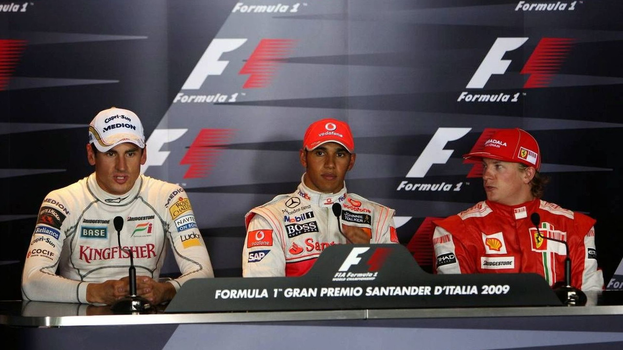 2009  Italian Grand Prix Post Qulaifying Press Conference
