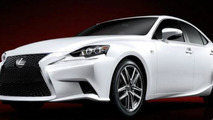 2014 Lexus IS F-SPORT first official photos emerge
