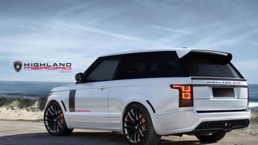 Merdad Collection prepares two-door 2013 Range Rover