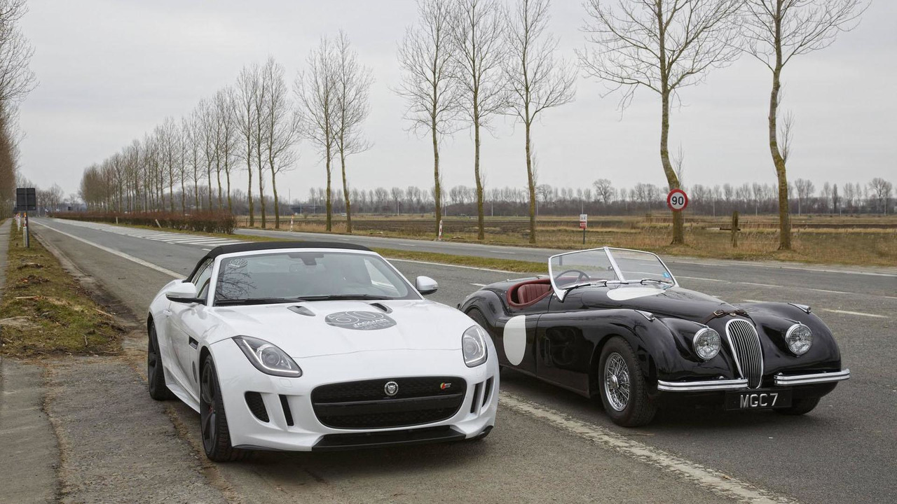 04.3.2013 Jaguar F-Type recreates historic world record event