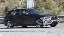 2014 BMW 1-Series facelift spy photo 05.09.2013