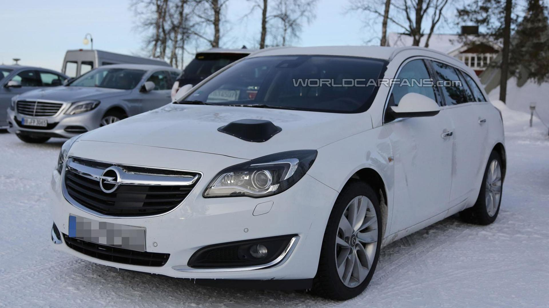 2016 opel insignia mule spied for the first time. Black Bedroom Furniture Sets. Home Design Ideas