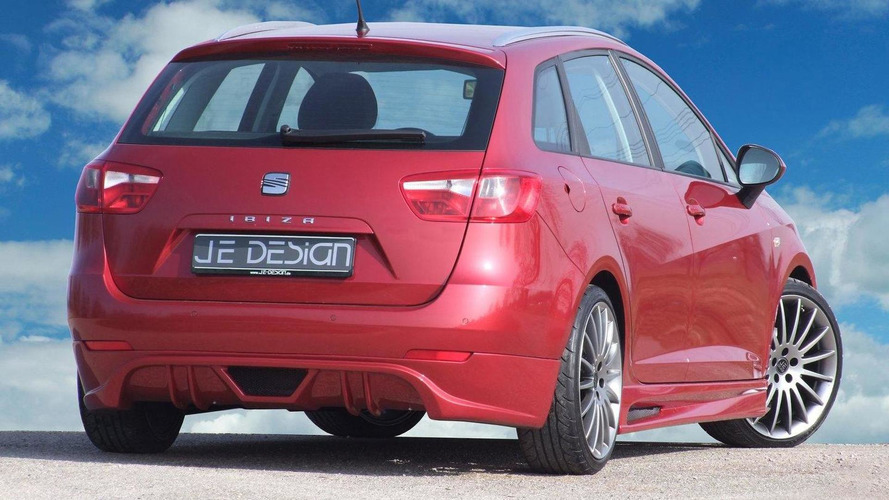Seat Ibiza ST wagon tuned by JE Design