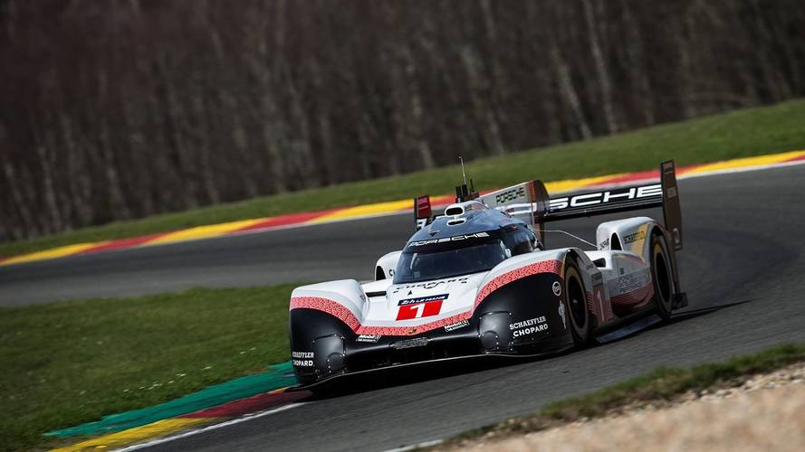 Porsche smashes the Spa lap record