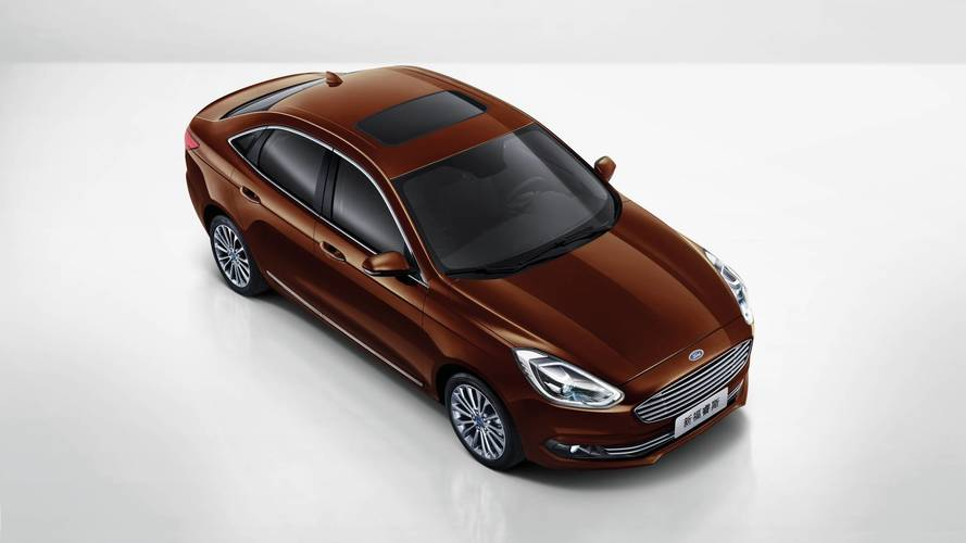 New Ford Escort Revealed at the Beijing motor show