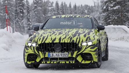 2019 Mercedes-AMG GT Four-Door Coupe Fleet Gets Stalked