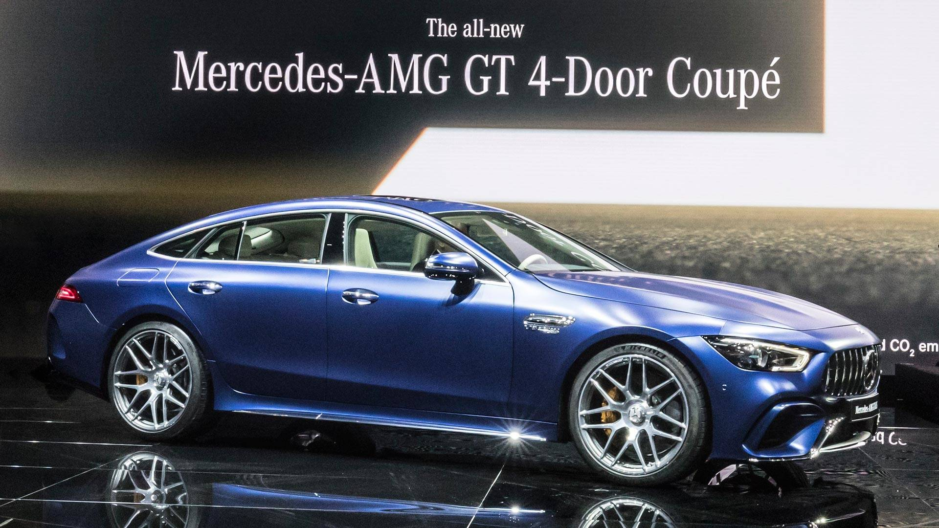 & Spend More Than 30 Minutes With The Mercedes-AMG GT 4-Door Coupe
