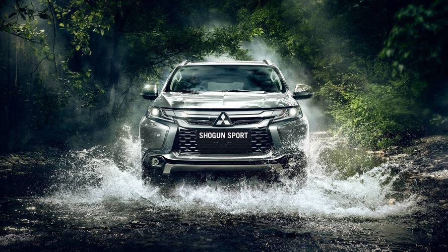 Mitsubishi Shogun Sport on sale this April priced from £36905