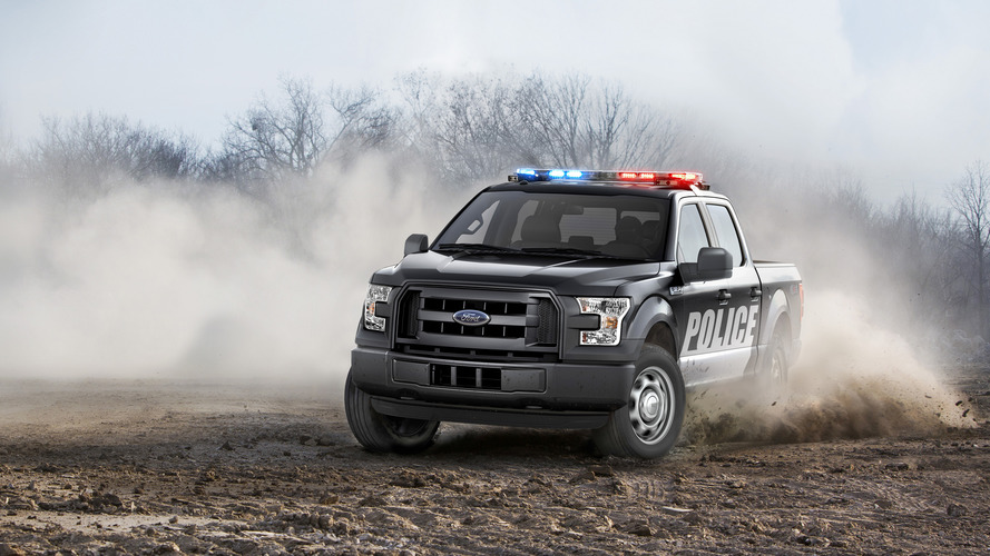 Ford adds F-150 Special Service Vehicle to police fleet offerings