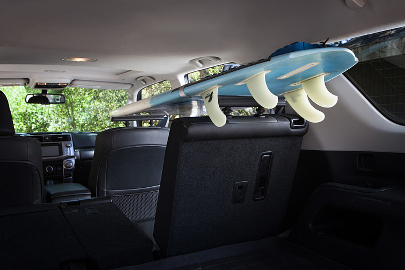 SeatRack Turns Your Car's Headrests into an Extra Cargo Rack