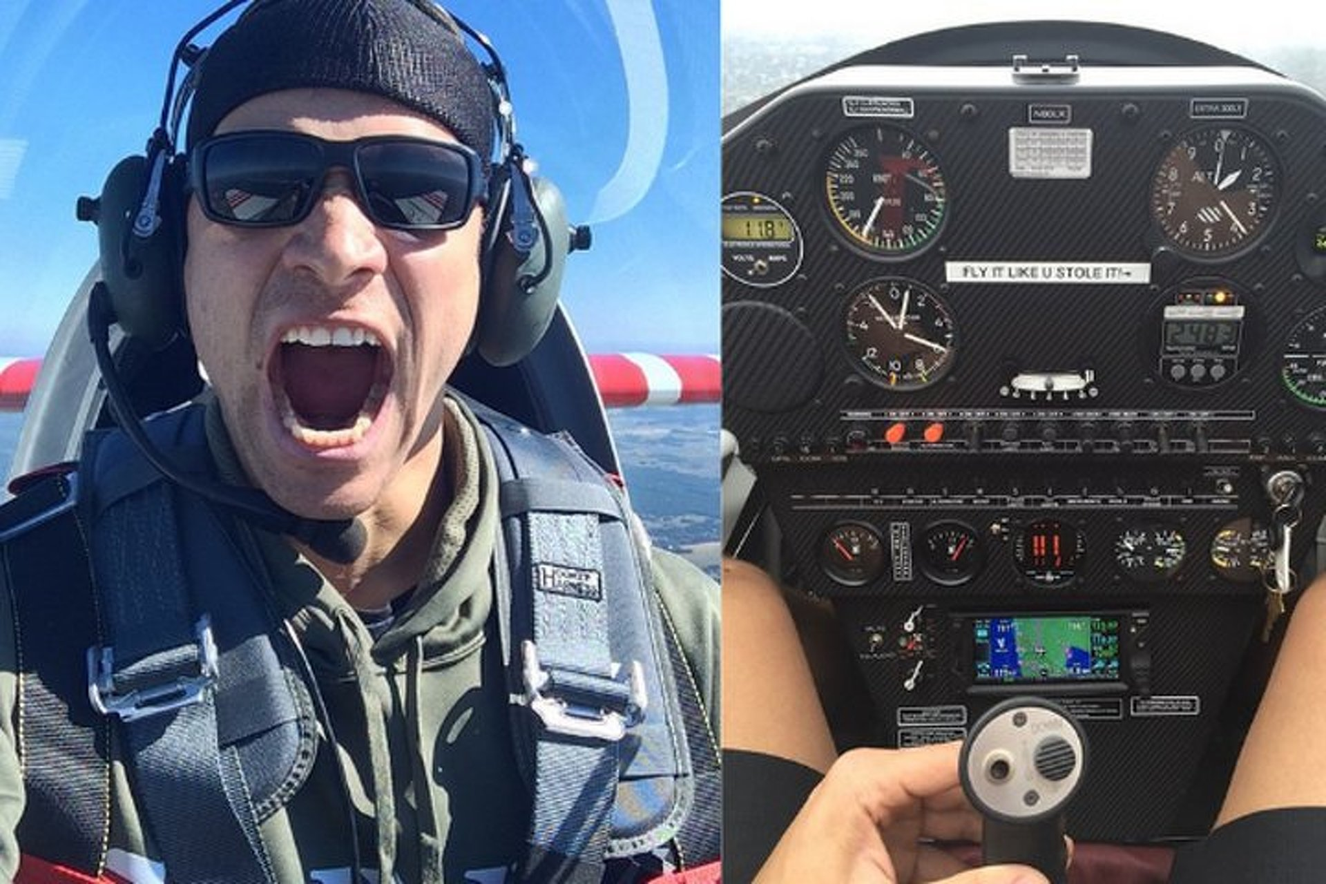 Seattle Seahawks' TE Jimmy Graham Moonlights as a Stunt Pilot