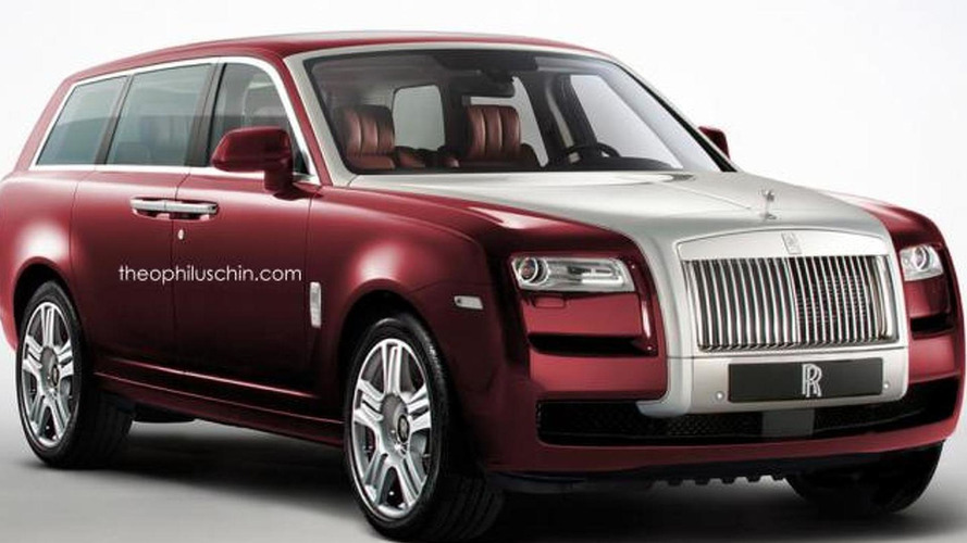 Rolls-Royce says SUV will use aluminum spaceframe unrelated to BMW