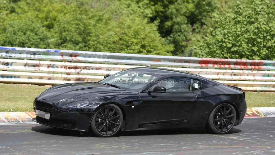 Aston Martin DB11 spied on the Ring