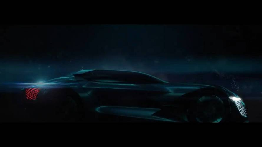 DS Teases New DSX E-Tense Concept With Sleek Silhouette