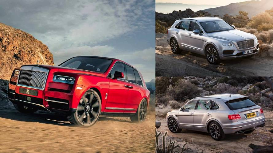 Rolls-Royce Cullinan: How Does It Compare To The Bentley Bentayga?