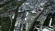 Aerial view of Zuffenhausen with Museum site (2007)