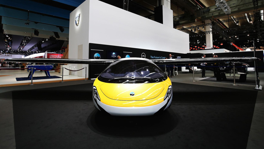 AeroMobil Flying Car Lands In Frankfurt