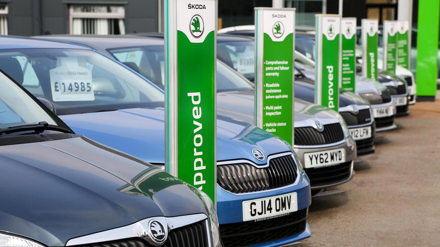 Used car values increased in the last year according to figures