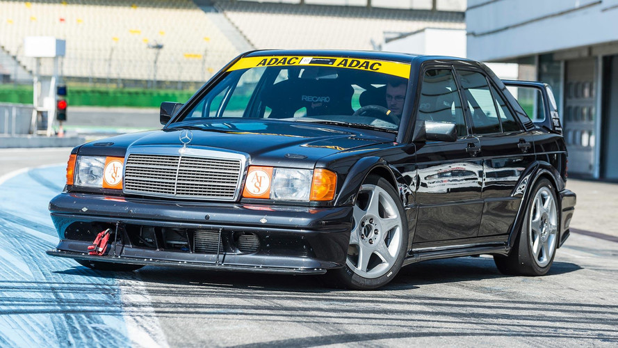Mercedes Builds Authentic 190E Evo II Copy To Thrash On Track