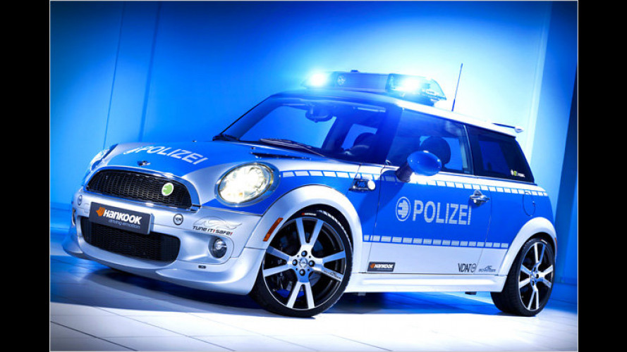Mini-E-Polizeiauto: Tune it! Safe!