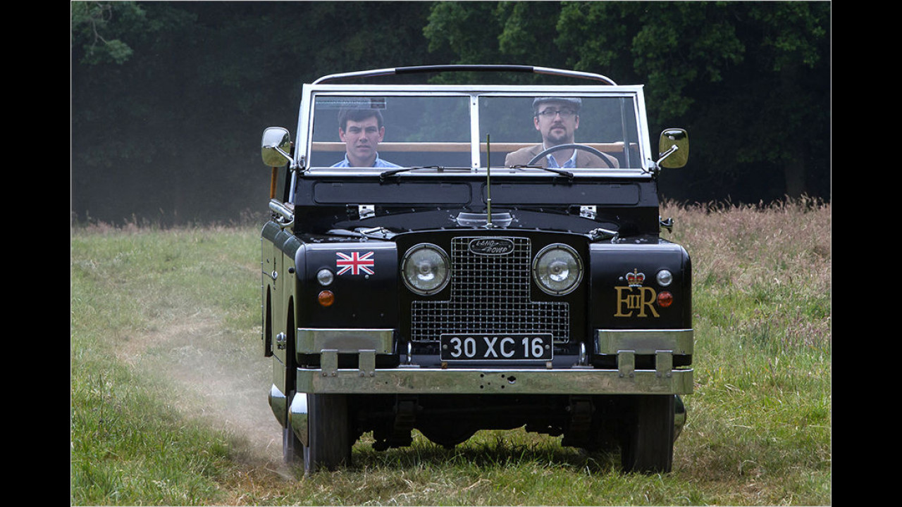 Land Rover Series IIa ,Ceremonial Car