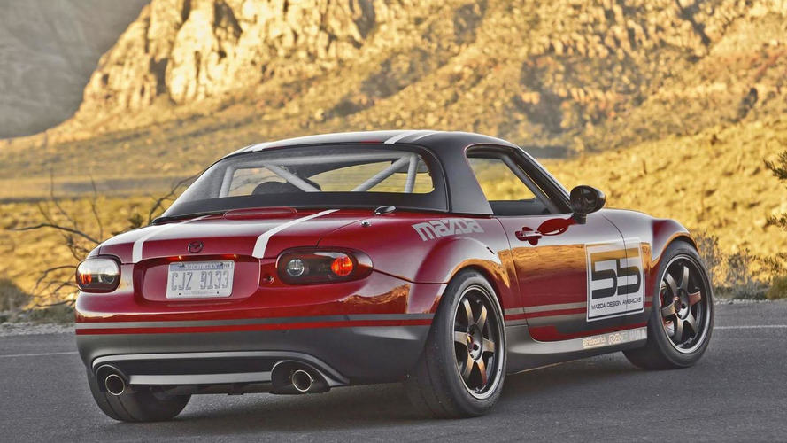 Mazda MX-5 Super25 concept introduced at SEMA
