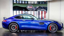 Mercedes AMG GT S Brilliant Blue Metallic