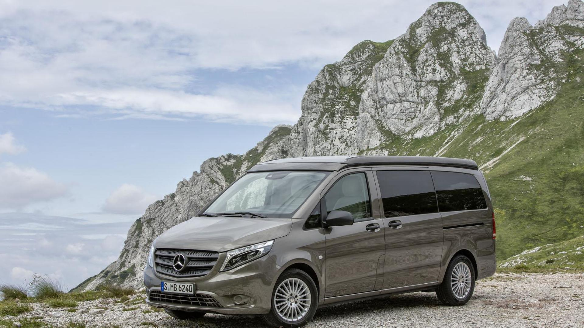 Новый кемпер Mercedes-Benz Vito Marco Polo Activity