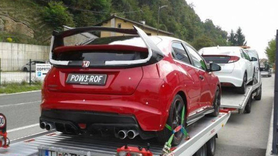 Mysterious Honda Civic spied, is it the Type R or a knock off?