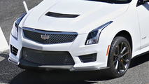 2016 Cadillac ATS-V Coupe spied without camouflage