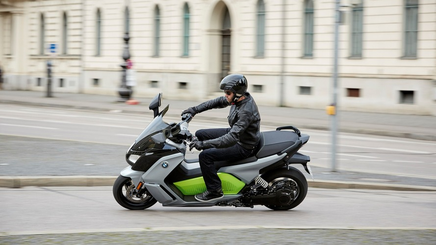 New BMW C evolution e-scooter can cover 100 miles, hit 80 mph