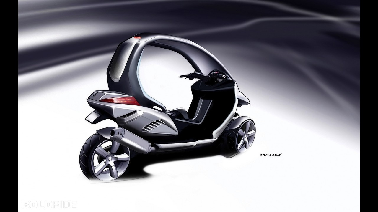 Peugeot HYmotion3 Compressor Concept