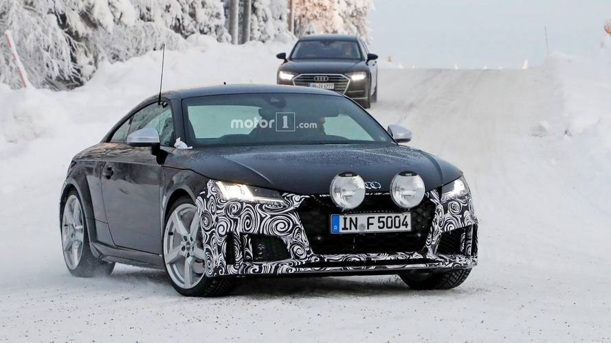 Audi TTS Refresh Spy Photos