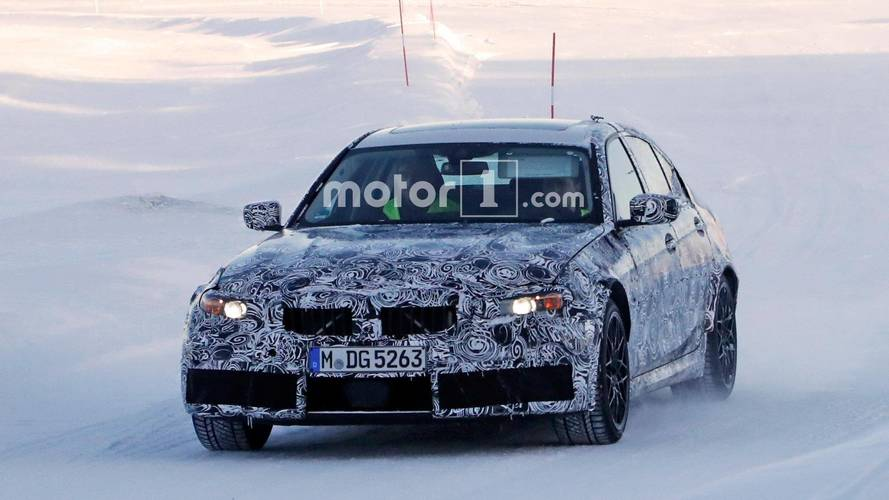 BMW M3 2019  en photos espion