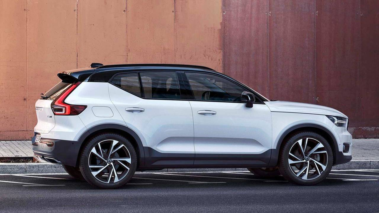 2018 volvo xc40 photo. Black Bedroom Furniture Sets. Home Design Ideas