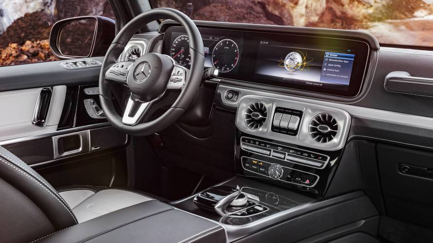 2018 Mercedes G-Class interior first look: Old inside out