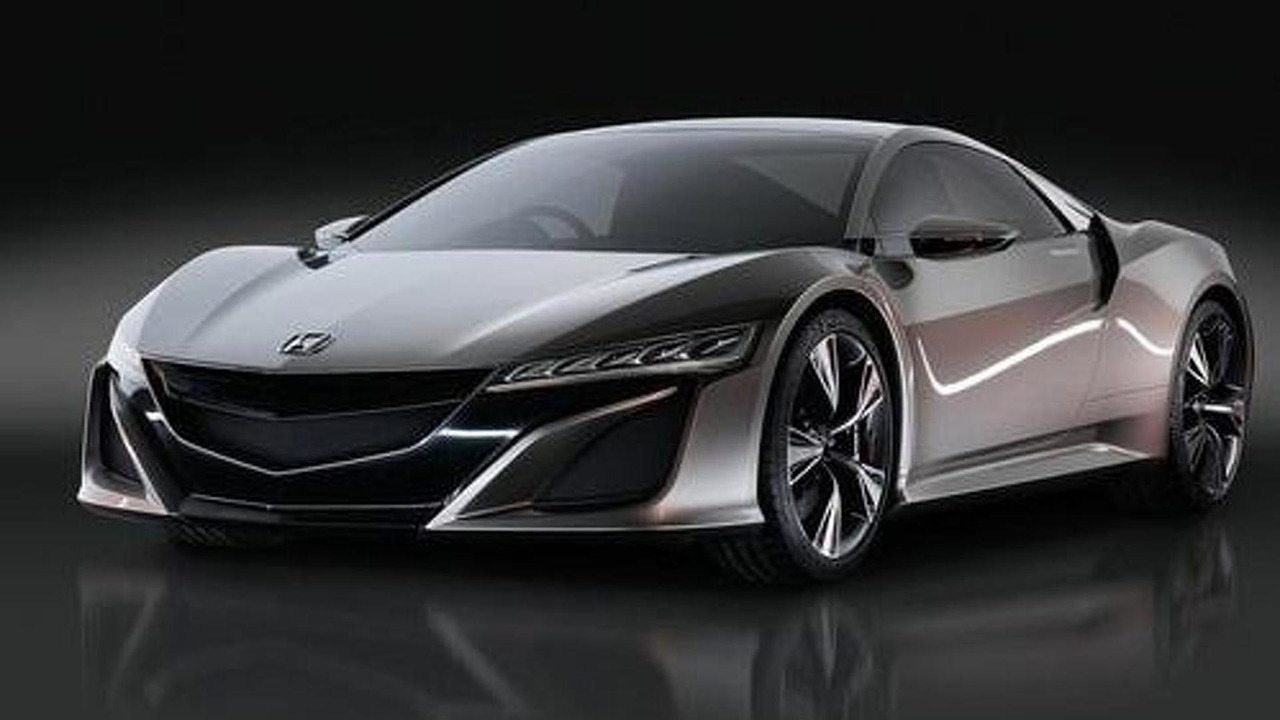 Acura NSX production version (not confirmed)