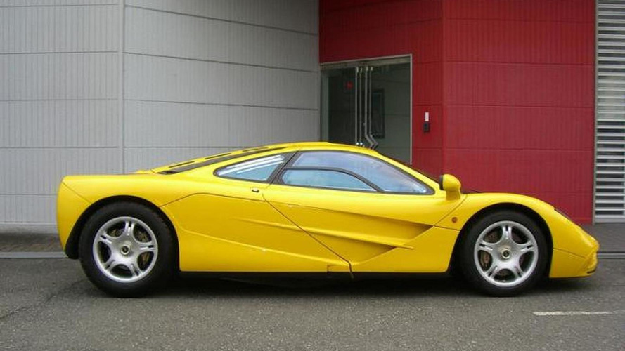 Untouched McLaren F1 with zero miles up for sale