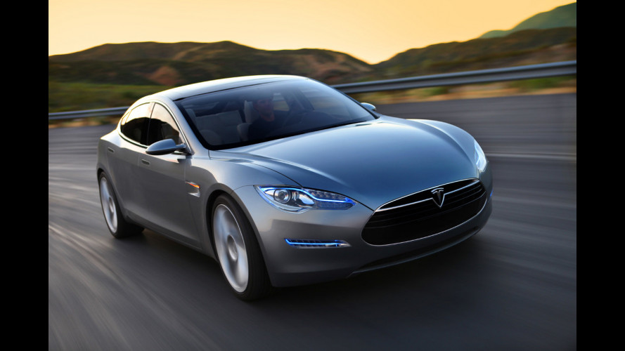Tesla Model S: da NVIDIA il touch-screen 17""