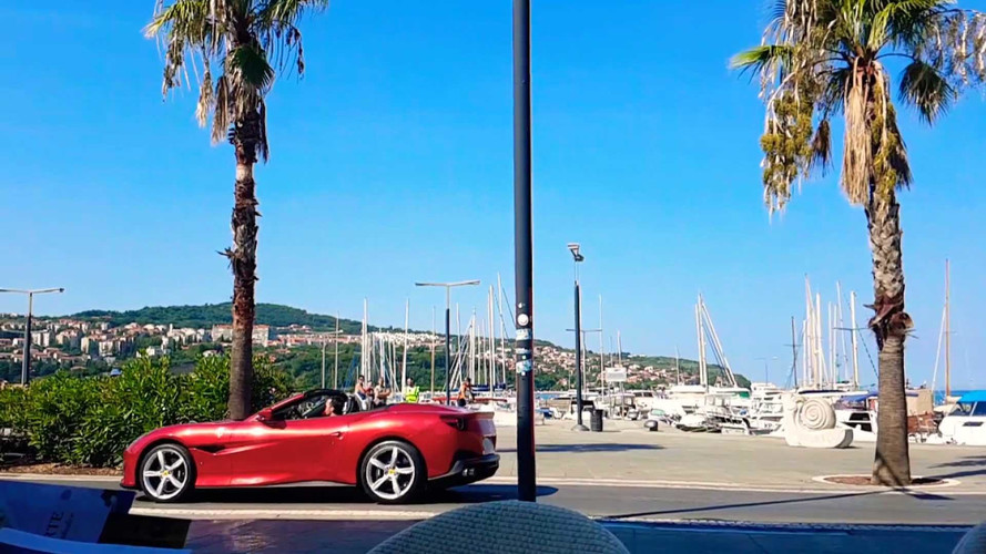 Hear The Ferrari Portofino's Engine Sound In First Video