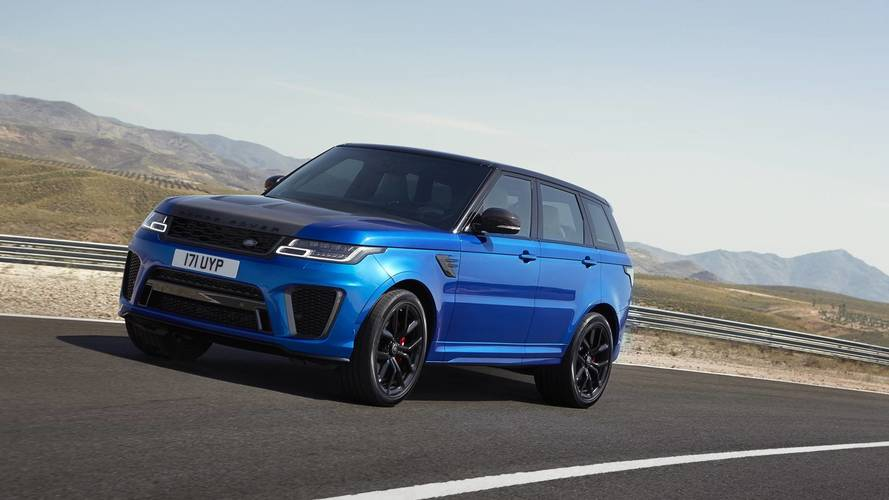 Range Rover Sport SVR Could Get Hardcore Stripped-Out Version