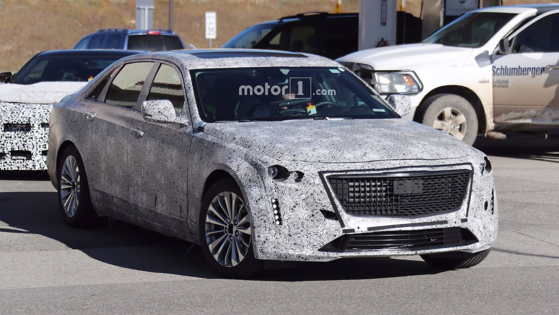 facelifted cadillac ct6 spied with escala design cues. Black Bedroom Furniture Sets. Home Design Ideas