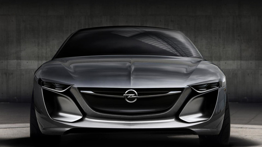 Opel Monza Concept shown ahead of IAA [video]