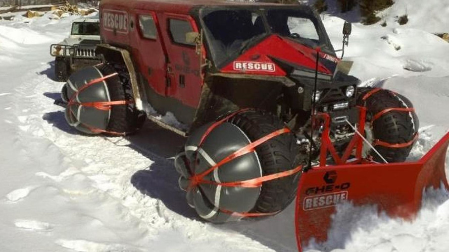 Ghe-o Motors Rescue is a Romanian all-terrain vehicle [video]