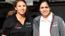 Sauber signs up female driver de Silvestro