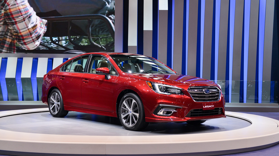 With the 2018 Subaru Legacy, it's what's inside that counts